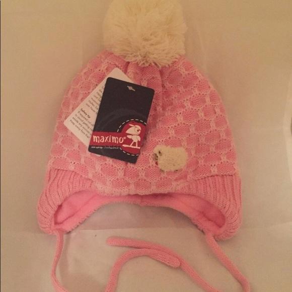f95732dda Girls winter Maximo Hat! Made in Germany. 1-2 yrs. NWT